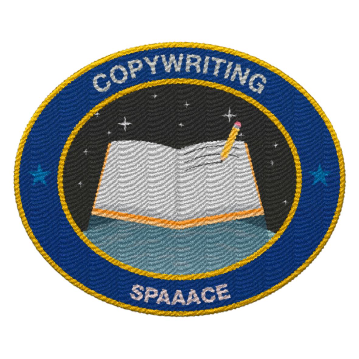 Spaaace - patch copywriting