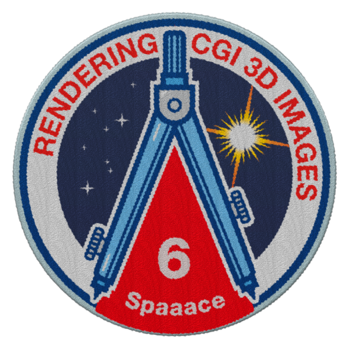 Spaaace - patch communication rendering 3D CGI